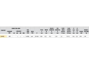 Kit chaine ACIER TRIUMPH 900 TRIDENT 1991-1998 USA