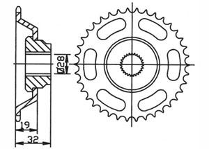 Kit APRILIA AF1 50 /Futura /Europa 90-