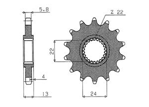 Kit APRILIA Moto 6.5 Starck 95-00