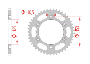 Kit chaine Acier HONDA CRF 250 L 2012-2014 Renforcé Xs-ring