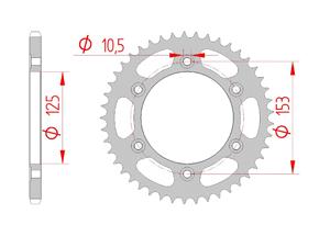Kit chaine Acier HONDA CRF 250 M 2013-2014 Renforcé Xs-ring