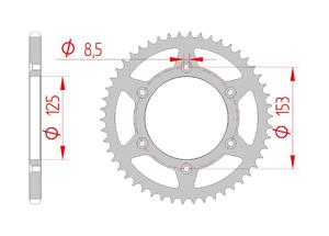 Kit chaine Acier HONDA CRF 250 2011-2014 Renforcé Xs-ring