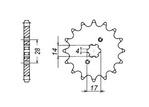 Kit CAGIVA Mito 50 99-