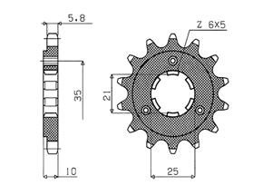 Kit CAGIVA T4 350 E /T4 350 R 87-