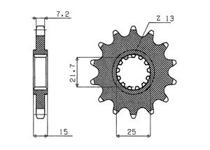 Kit TRIUMPH Speed Four 600/TT 600 00-05