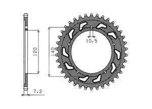 Kit TRIUMPH Speedmaster 865 05-