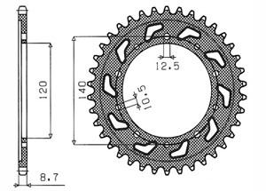 Kit TRIUMPH Sprint RS 955 00-