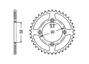 Kit HONDA XR50 00-03