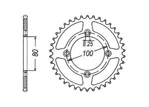 Kit HONDA XR70 R 95-99