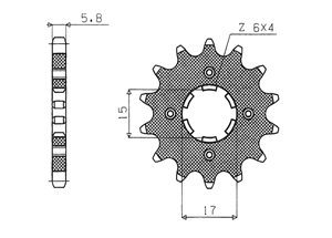 Kit HONDA ST50 DAX 88-93