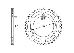 Kit HONDA MT80 S 80