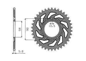 Kit HONDA NSR125 98-