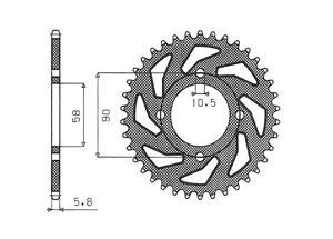 Kit HONDA XL125 V Varadero 01-