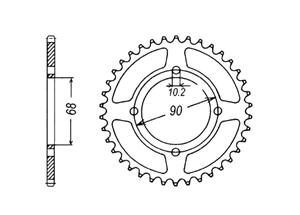 Kit HONDA MTX125 83-94