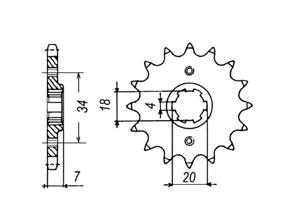 Kit HONDA MTX125 R 86-87