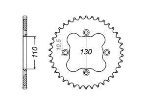 Kit HONDA TRX450 R 06-