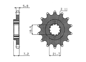 Kit HONDA XR250 R 96-00