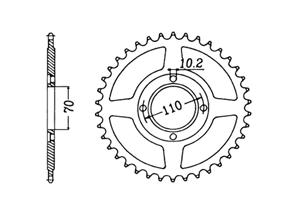 Kit HONDA CB400 N 81-82
