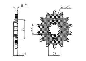 Kit HONDA CB450 N 84-