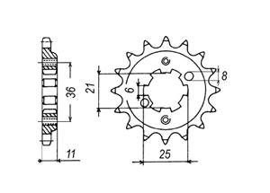 Kit HONDA XBR500 (44PS) 85-86