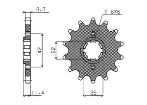 Kit HONDA FT500 C 82-