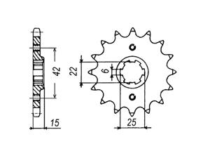 Kit HONDA NS400 R/VFR400 85-87