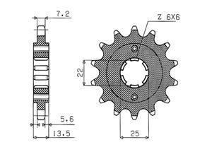 Kit HONDA XL600 V 87-88