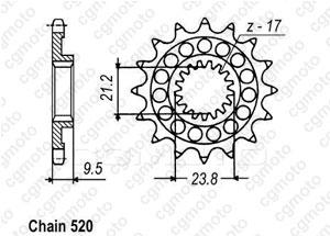 Pignon Suzuki Rm-z 450 05-