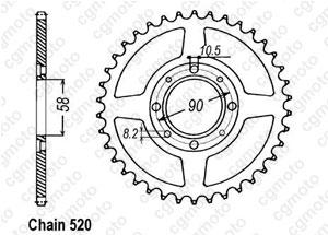 Couronne Cm 250 Cc 82-85