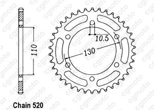Couronne Zr 550 Zephyr 90-98