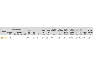 Kit chaine Acier DERBI GPR 50 NUDE 2004-2005