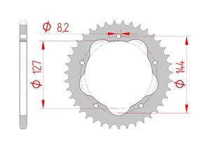Kit chaine Acier DUC 848 EVO 07-13 FOR PCD2 #520 Super Renforcé Xs-ring