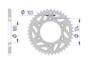 Kit chaine ALU DUCATI 750 MONSTER 1999-2002 Hyper Renforcé Xs-ring