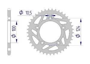 Kit chaine ALU DUCATI 749 2003-2008 Super Renforcé Xs-ring