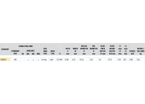Kit chaine ALU HVA 310 TE 2011-2012 Standard Xs-ring