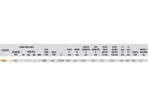 Chaîne Afam A520MX4-O ARS ORANGE