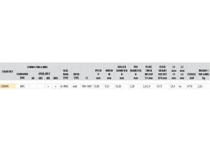 Chaîne Afam A530XHR-V MRS VERT